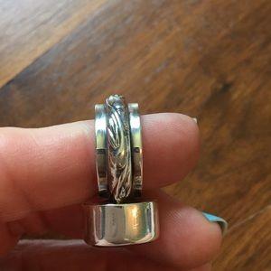 Silpada Jewelry - Silpada R1055 Rose Quartz Ring Retired